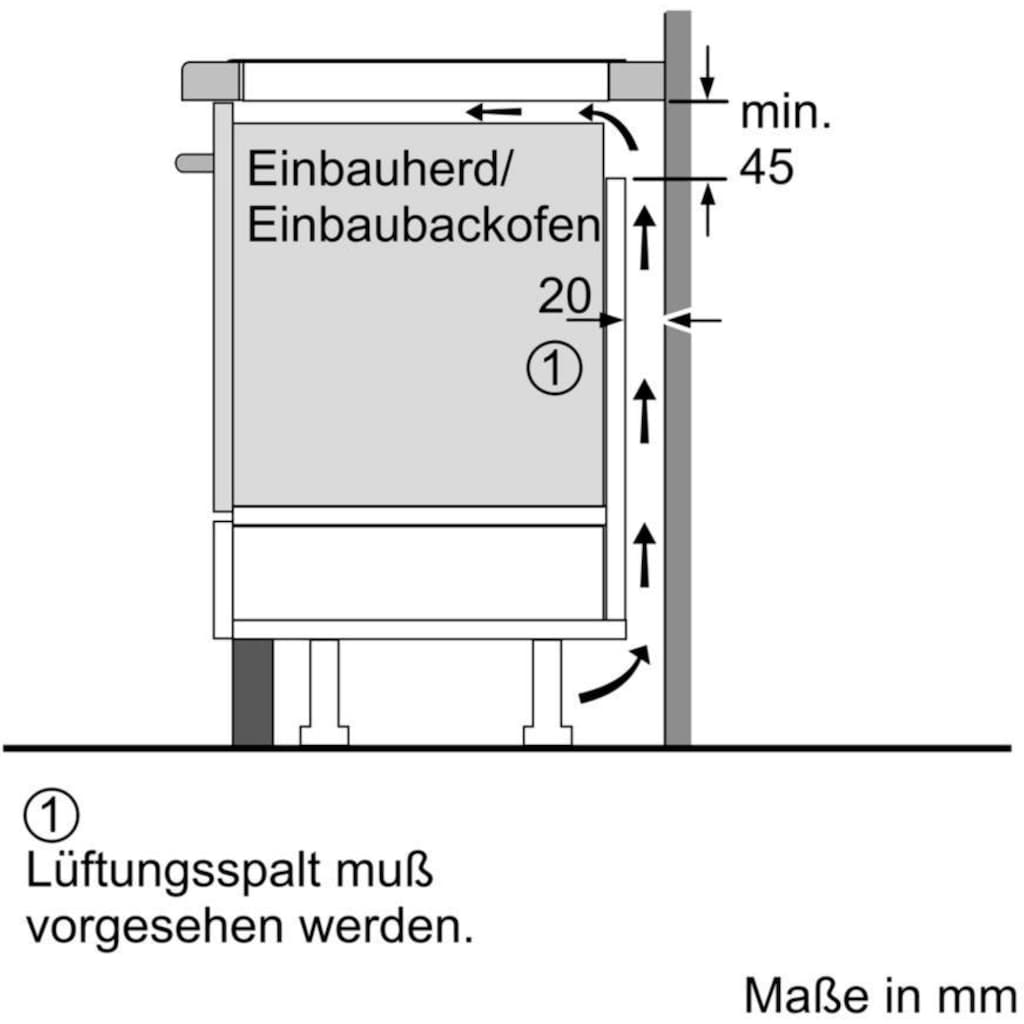 NEFF Induktions-Kochfeld von SCHOTT CERAN® »T48BD00N0«, T48BD00N0, mit TouchControl-Bedienung