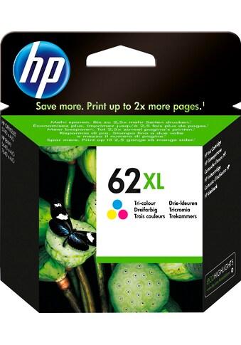 HP Tintenpatrone »hp 62XL Original Cyan, Magenta, Gelb«, (1 St.) kaufen