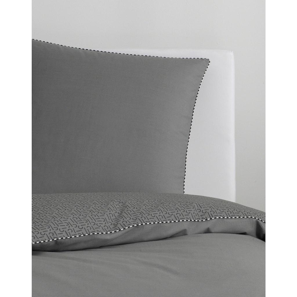 Esprit Wendebettwäsche »Scatter«, mit besticktem Kissenbezug
