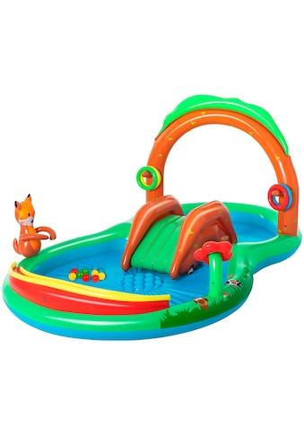 Bestway Planschbecken »Wasserspielcenter Waldtiere«, BxLxH: 199x295x130 cm kaufen