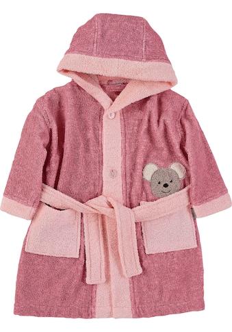 Sterntaler® Bademantel »Mabel«, mit Kapuze und zwei Einschubtaschen vorne kaufen