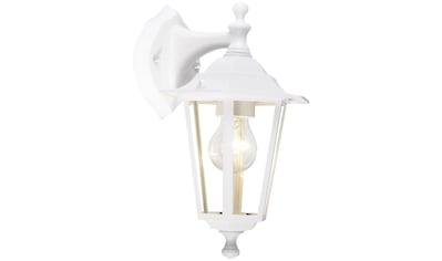Brilliant Leuchten Außen-Wandleuchte »Crown«, E27, 1 St., Außenwandlampe hängend weiß kaufen