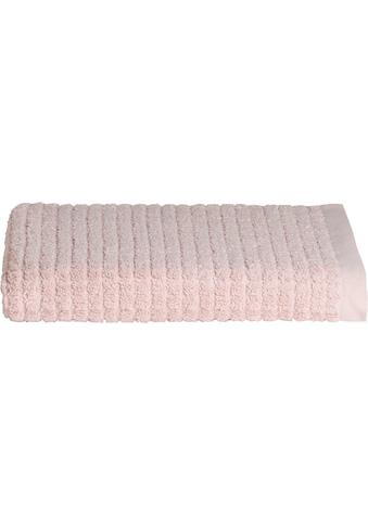 Seahorse Badetuch »Cube«, (1 St.), mit stilvollem Blockmuster kaufen