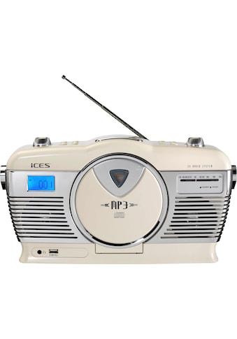 Lenco Retro-Radio »ISCD-33«, ( FM-Tuner ) kaufen