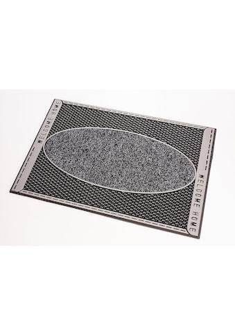 CarFashion Fußmatte »DC Clean Welliton«, rechteckig, 8 mm Höhe, Schmutzfangmatte, mit... kaufen