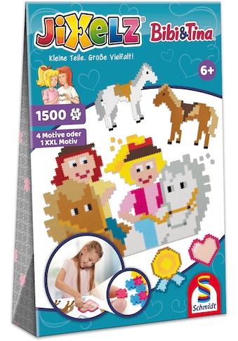"""Schmidt Spiele Konturenpuzzle """"Jixelz®, Bibi & Tina"""" kaufen"""