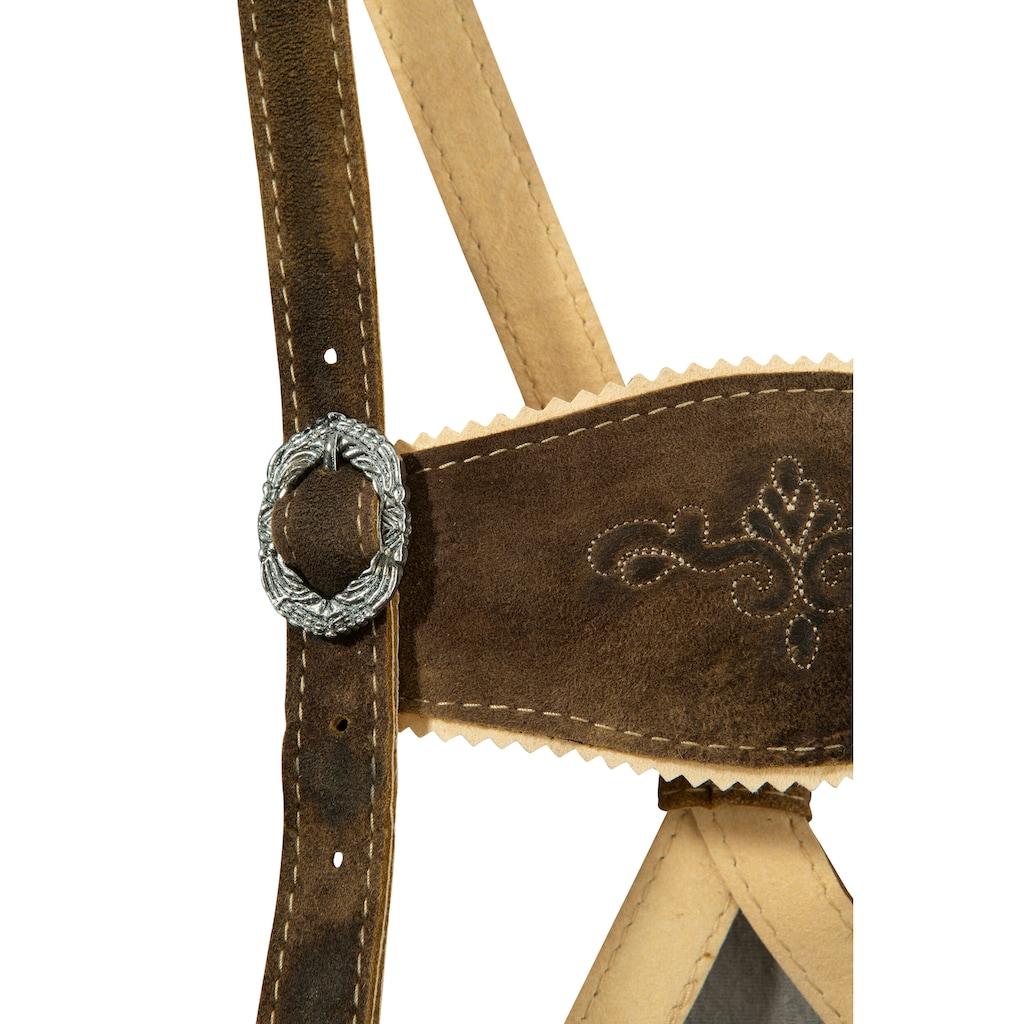 Andreas Gabalier Kollektion Trachtenlederhose, Kinder mit traditioneller Stickerei