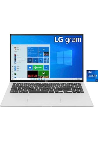 "LG Notebook »Gram 15Z90P-G.AA79G«, (39,6 cm/15,6 "" Intel Core i7 Iris© Xe Graphics\r\n... kaufen"