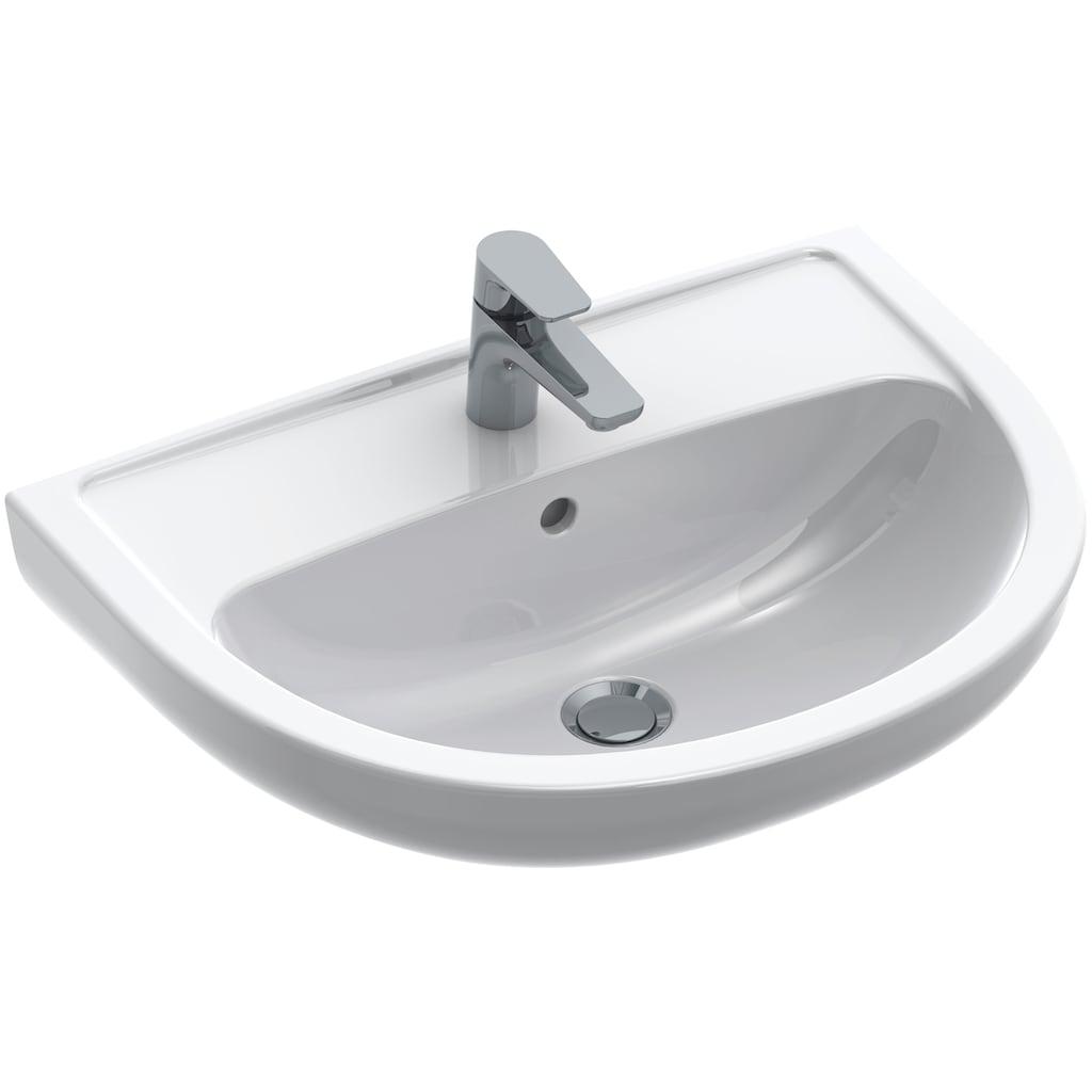 Gustavsberg Waschtisch »Saval 2.0«, weiß Alpin, 600 x 455 mm