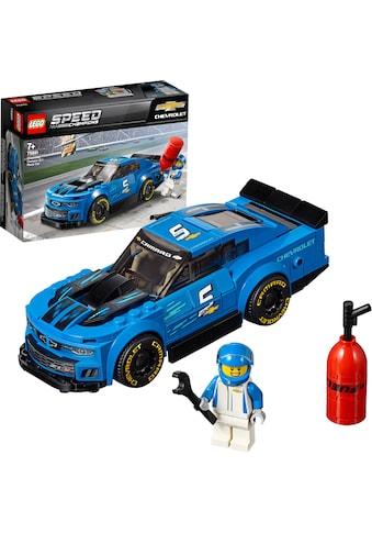 LEGO® Konstruktionsspielsteine »Rennwagen Chevrolet Camaro ZL1 (75891), LEGO® Speed Champions«, (198 St.), Made in Europe kaufen