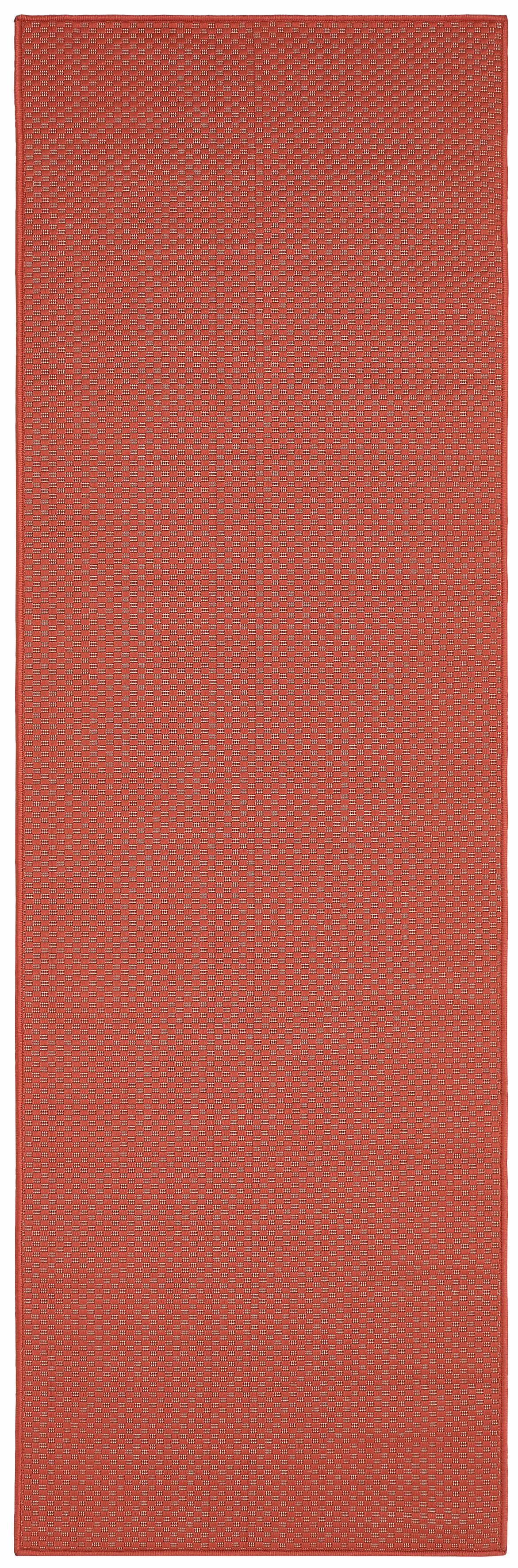 Läufer, »Richard«, my home, rechteckig, Höhe 4 mm, maschinell gewebt   Heimtextilien > Teppiche > Läufer   Rot   My Home