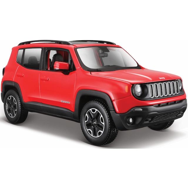 "Maisto® Spielzeug-Auto ""Jeep Renegade, 1:24, rot"""