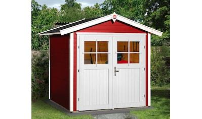 WEKA Gartenhaus »224 Gr.1«, BxT: 260x229 cm, inkl. Fußboden kaufen