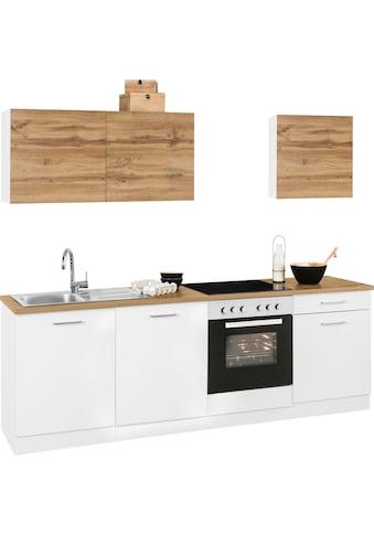 HELD MÖBEL Küchenzeile »Kehl«, ohne E-Geräte, Breite 240 cm kaufen