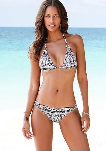 LASCANA Bikini-Hose »Belize«, mit Zierringen kaufen
