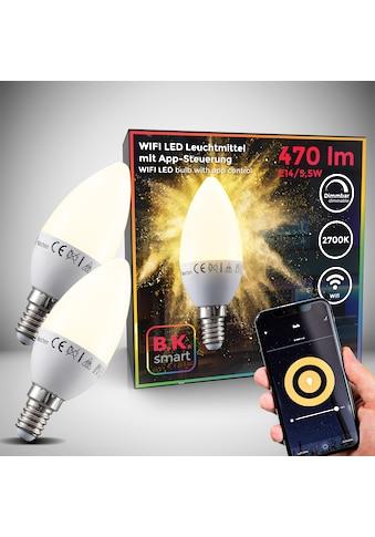 B.K.Licht LED - Leuchtmittel, E14, Warmweiß kaufen