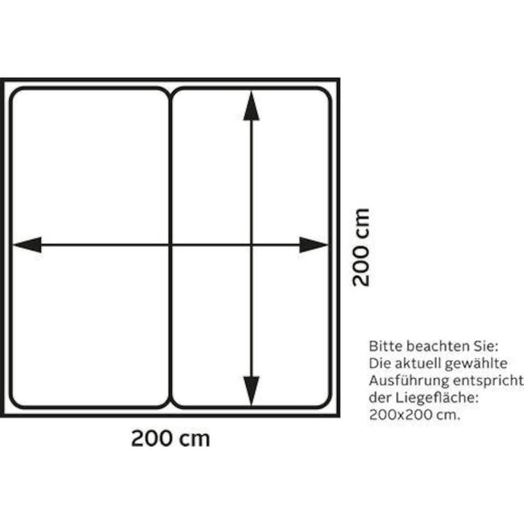 TOM TAILOR Boxspringbett »NORDIC PURE BOX«, im Retrolook mit TOM TAILOR Knopfprint, Höhe 105 cm