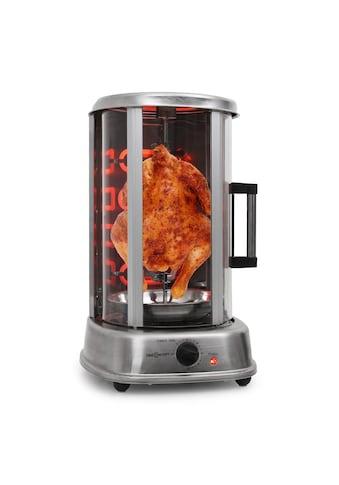 ONECONCEPT Kebap Grill Vertikalgrill Hänchengrill für Zuhause Edelstahl »Kebap Master Pro« kaufen