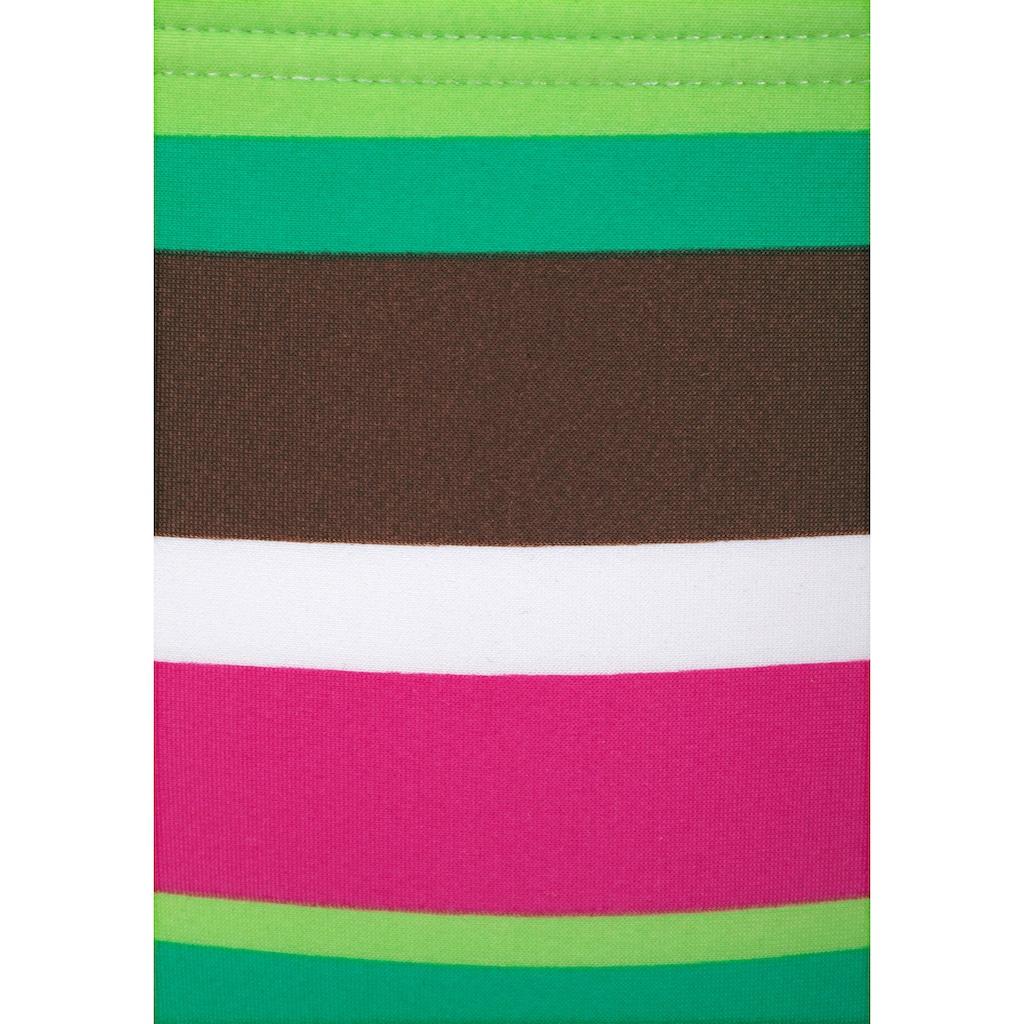 Buffalo Bügel-Bikini, mit farbenfrohen Streifen