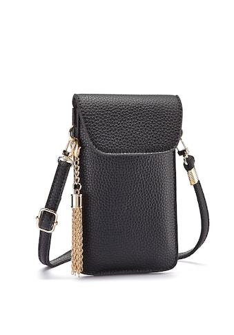 LASCANA Umhängetasche, modische Minibag, Handytasche zum Umhängen mit praktischem Sichtfenster und abnehmbarer Tassel kaufen