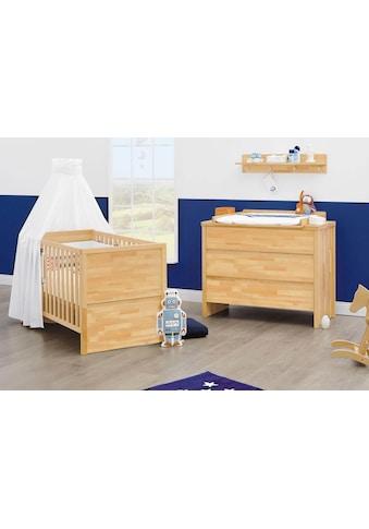 Pinolino® Babymöbel-Set »Fagus«, (Spar-Set, 2 St.), breit; Made in Europe; mit... kaufen