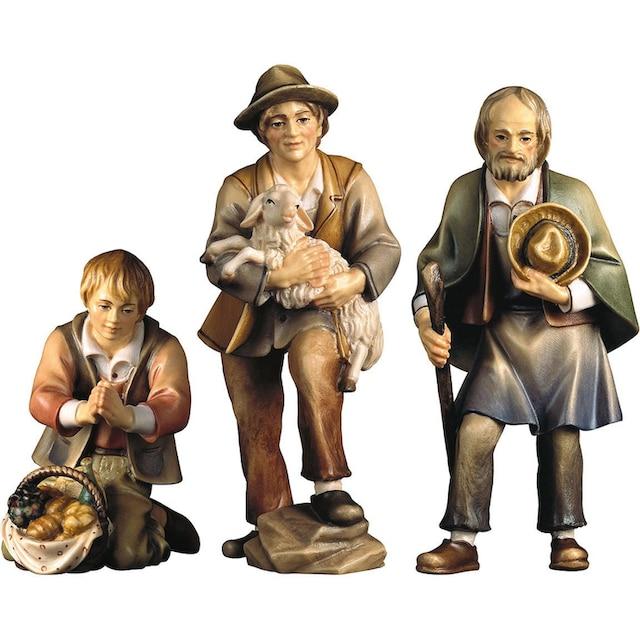 ULPE WOODART Krippenfigur »Drei Hirten« (Set, 3 Stück)