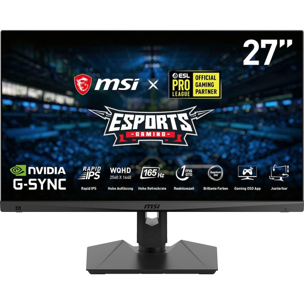 """MSI Gaming-Monitor »Optix MAG274QRF QD«, 69 cm/27 """", 2560 x 1440 px, WQHD, 1 ms Reaktionszeit, 165 Hz"""