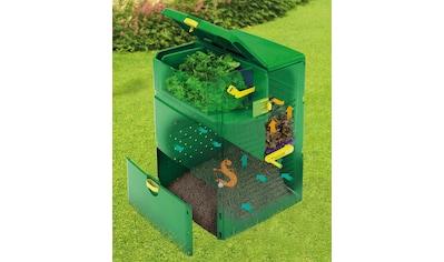 JUWEL Thermo - Komposter »Aeroplus 6000«, BxTxH: 79x79x110 cm, 600 Liter, mit 3 - Kammer - System kaufen
