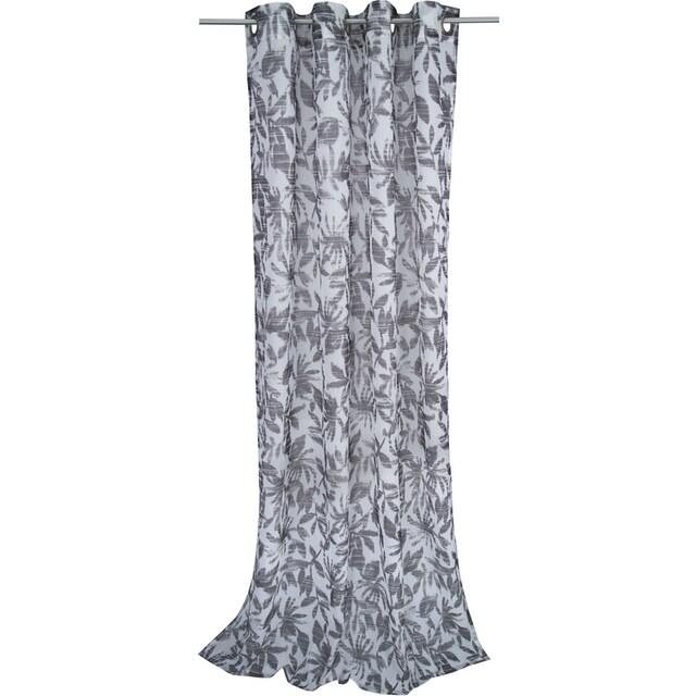 Vorhang, »BATIC LEAVES«, TOM TAILOR, Ösen 1 Stück