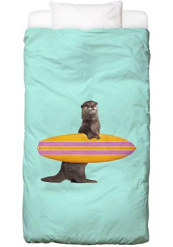Bettwäsche »Surfing Otter«, Juniqe kaufen