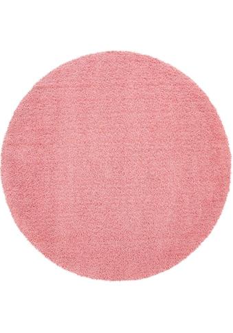 Hochflor - Teppich, »Avantgarde 550«, Paco Home, rund, Höhe 45 mm, maschinell gewebt kaufen