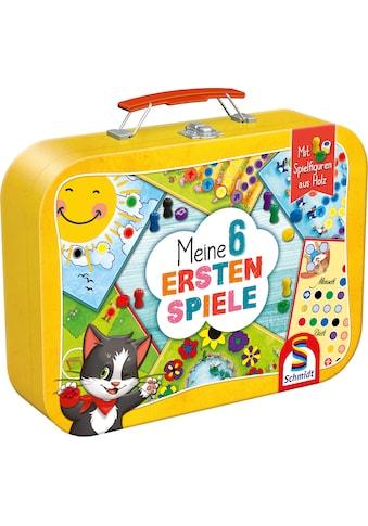 Schmidt Spiele Spielesammlung »Meine 6 ersten Spiele«, im Metallkoffer kaufen