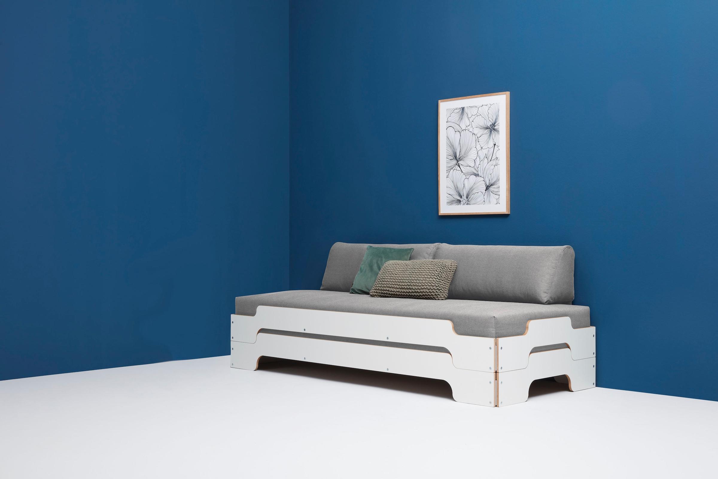 Müller SMALL LIVING Daybett »STAPELLIEGE Komfort-Set«, inklusive 2 bequemen günstig online kaufen