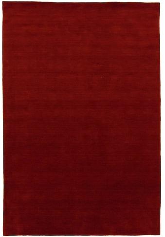 morgenland Wollteppich »LORIBAFT TEPPSTAR«, rechteckig, 15 mm Höhe, reine Schurwolle, uni, Wohnzimmer kaufen