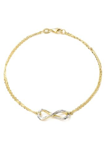 Amor Goldarmband »Infinity/Unendlichkeitsschleife, 2014324« kaufen