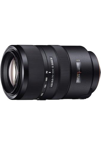 Sony Objektiv »Vollformat - Zoomobjektiv 70 - 300 mm F4.5« kaufen