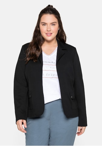Sheego Jackenblazer, in verschlussloser Form, leicht tailliert kaufen