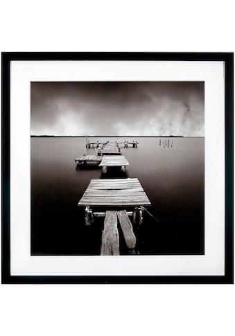 G&C Kunstdruck »Levy: Beach Motiv 3«, 50/50 cm, gerahmt kaufen