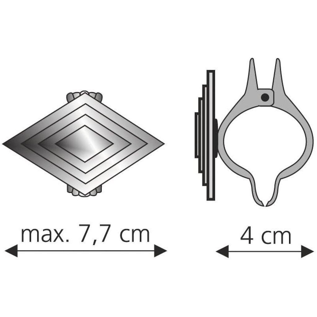 Liedeco Dekoklammer »Rhombus«, für Gardinen, Vorhänge
