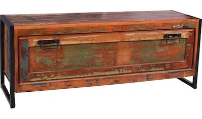 SIT Schuhkommode »Bali«, aus recyceltem Holz, Shabby Chic, Vintage kaufen