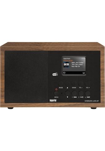 IMPERIAL by TELESTAR Digitalradio (DAB+) »Dabman d35 BT«, (WLAN-Bluetooth Digitalradio... kaufen