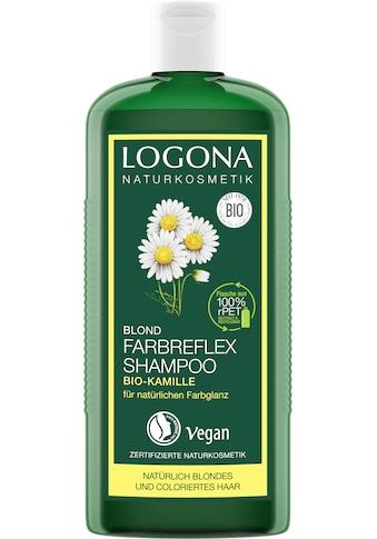 LOGONA Haarshampoo »Logona Farbreflex Shampoo Blond Bio-Kamille« kaufen