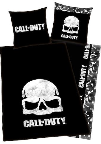 Jugendbettwäsche »Call of Duty«, mit Schriftzug kaufen