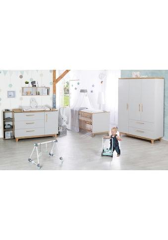 roba® Babyzimmer-Komplettset »Caro«, (Set, 3 St.), breit; mit Kinderbett, Schrank und... kaufen