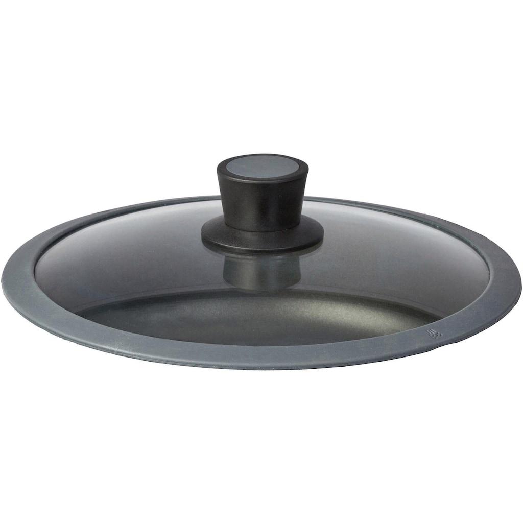 SKK Schmorpfanne »Serie 6«, Aluminiumguss, (1 tlg.), Ø 28 cm, abnehmbarer Griff, Induktion