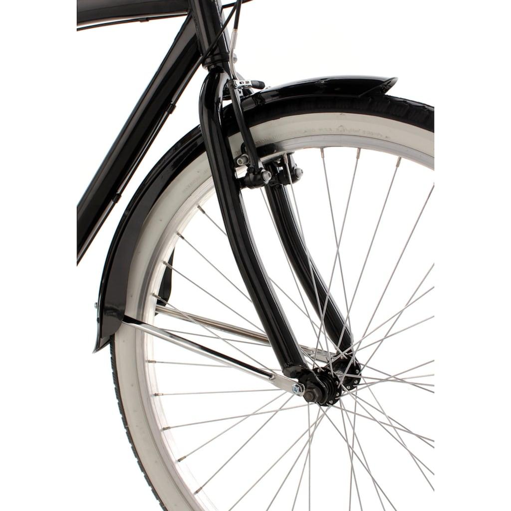 KS Cycling Cruiser »Vintage«, 6 Gang, Shimano, Tourney Schaltwerk, Kettenschaltung