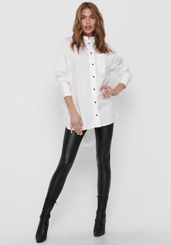 Only Hemdbluse »ONLSELMA«, in Oversize Form kaufen
