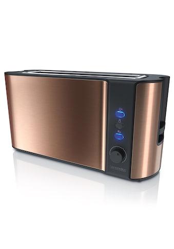 Arendo Automatik 2 Scheiben Langschlitz Toaster im Kupfer Design »Frukost Copper« kaufen