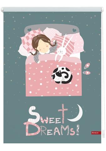 LICHTBLICK ORIGINAL Seitenzugrollo »Klemmfix Digital Sweet Dreams«, verdunkelnd,... kaufen