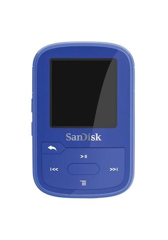 Sandisk MP3-Player »mit Befestigungsclip«, Clip Sport Plus 16GB, Blau kaufen